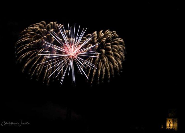 Volksfestfeuerwerk